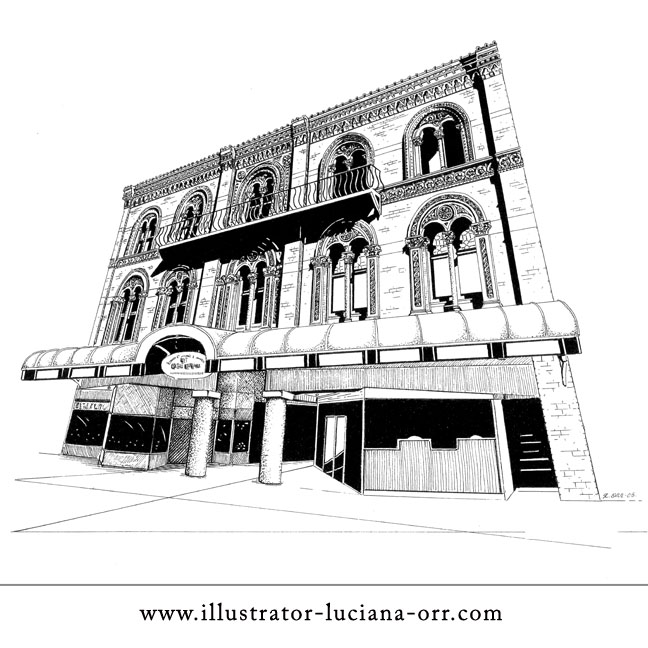 Interesting Architecture Drawing Illustrator And More On